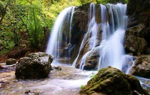 Водопад Серебряные Струи, Симферополь