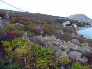 Кучук-Ламбатский хаос Алушта Утес