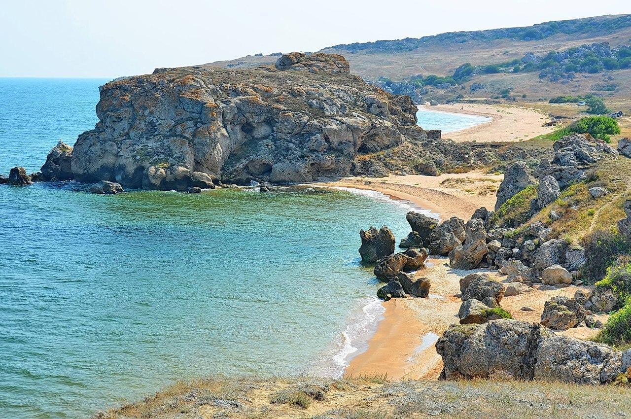 Отдых на Азовском море, Крым