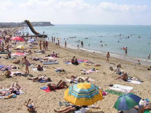 Пляжи Орловки Крым