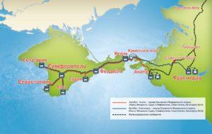 Карта единый билет в Крым